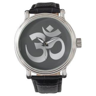 Om Omkara Symbol Wristwatch