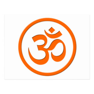 Om or Aum Post Card