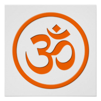 Om or Aum Poster