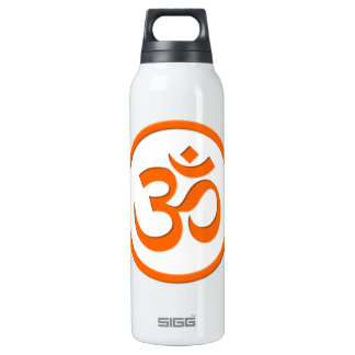 Om or Aum 16 Oz Insulated SIGG Thermos Water Bottle