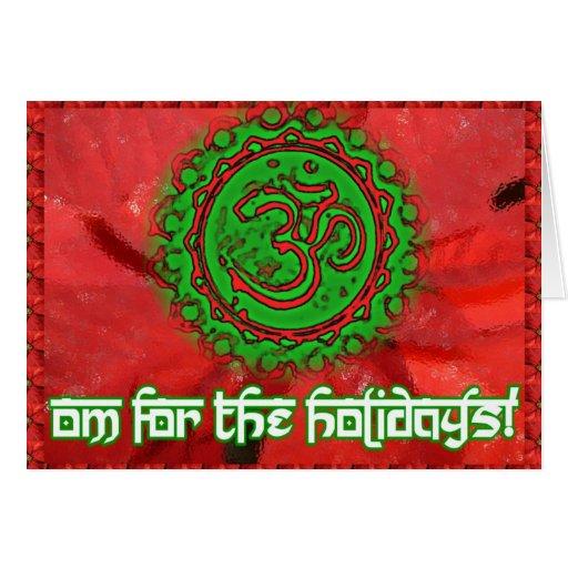 OM para la tarjeta de los días de fiesta
