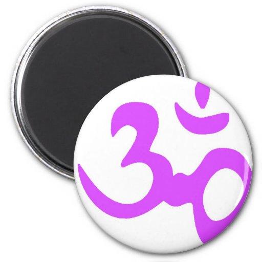 Om Purple Magnet