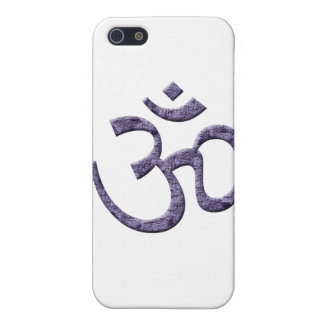 OM-purple/Spirituality Cover For iPhone SE/5/5s