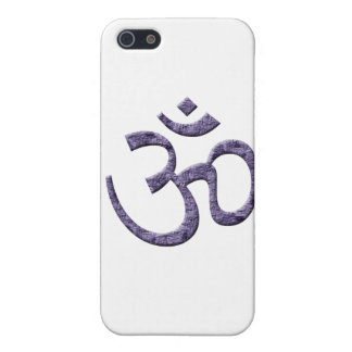 OM-purple/Spirituality iPhone SE/5/5s Case