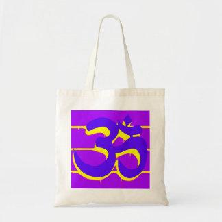 OM púrpura empaqueta