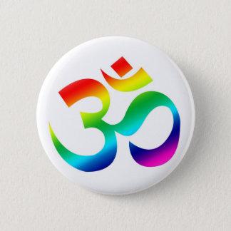 OM Rainbow - button