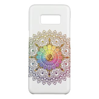 Om Rainbow Mandala Skin Case-Mate Samsung Galaxy S8 Case
