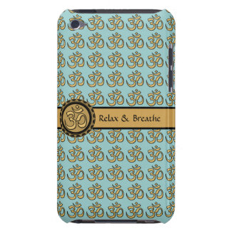 Om Relax & Breathe iPod Touch Barely There Case 2