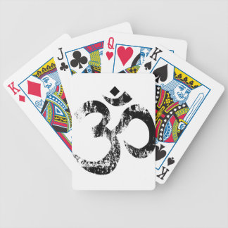 Om Rubber SDtamp Bicycle Playing Cards