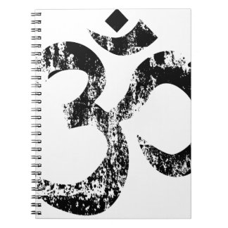 Om Rubber SDtamp Notebook