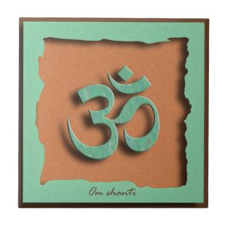Om Shanti Ceramic Tile