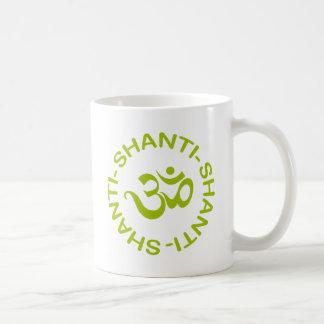 Om Shanti Shanti Shanti Gift Classic White Coffee Mug