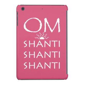 OM-Shanti/Yoga Lifestyle iPad Mini Retina Cover