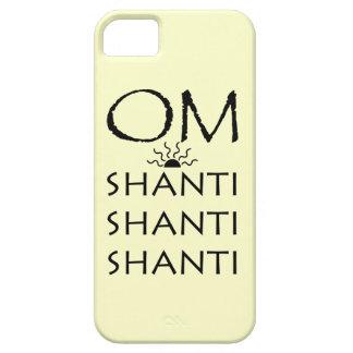 OM-Shanti/Yoga Lifestyle iPhone SE/5/5s Case