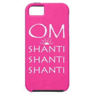 OM-Shanti/Yoga Lifestyle/Pink iPhone SE/5/5s Case