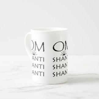 OM-Shanti yoga Tazas De Porcelana