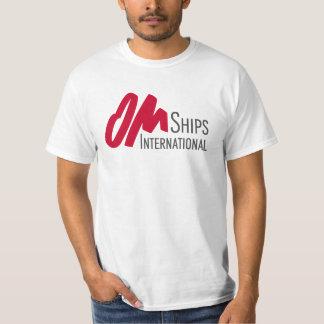 OM Ships Logo Basic Tshirt