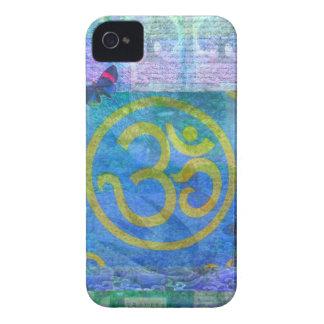 Om Sign Buddha art iPhone 4 Case