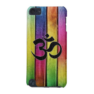 Om sign on multicolor wood iPod touch (5th generation) cover