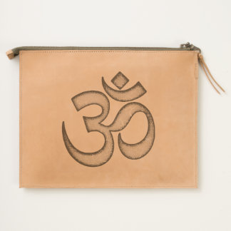 OM Sign Travel Pouch