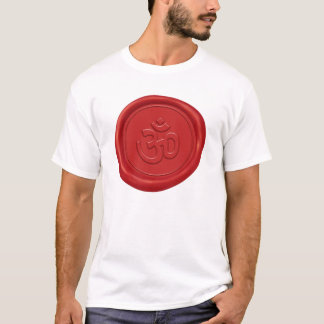 Om Sign Wax Seal T-Shirt