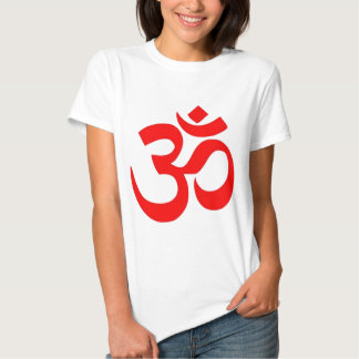 OM símbolo hindú y budista (del ॐ) - Camisas