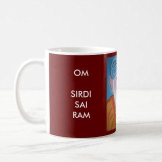 OM SIRDI SAI RAM - SAI BABA COFFEE MUG