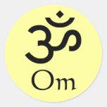Om Sticker