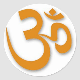 OM Store for Yoga Classic Round Sticker