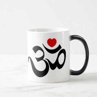 Om Symbol 11 Oz Magic Heat Color-Changing Coffee Mug