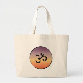 Om Symbol Tote Bags