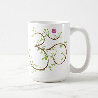 Om symbol coffee mug