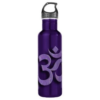 Om Symbol Custom Water Bottle