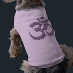 """Om Symbol Dog Shirt<br><div class=""""desc"""">This is a virtual stitch image of my original Om Symbol cross stitch pattern.  If you would like to stitch it yourself,  there is info in my profile on where to find the pattern.</div>"""