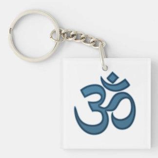 Om symbol key chain