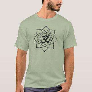 Om Symbol Lotus, Sanskrit T-Shirt