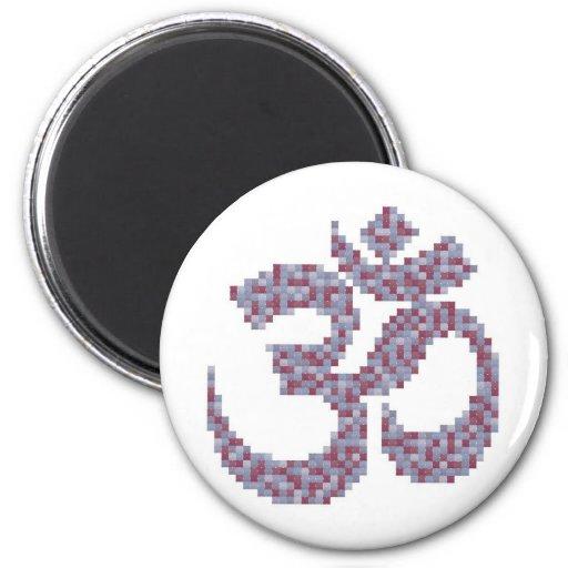 Om Symbol Magnet