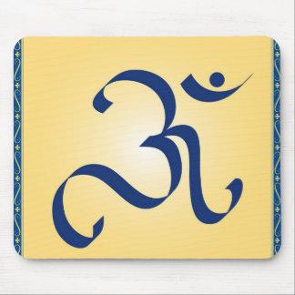 OM symbol Mouse Pad