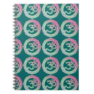 Om Symbol Sanskrit Note Book