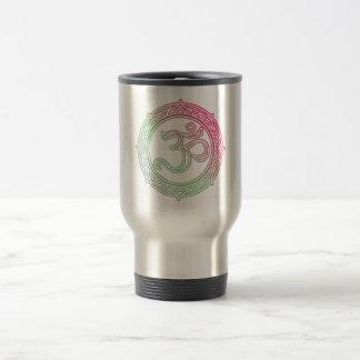 Om Symbol Sanskrit Travel Mug