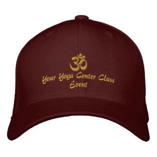 OM Symbol Spirituality Yoga Embroidery Embroidered Baseball Cap