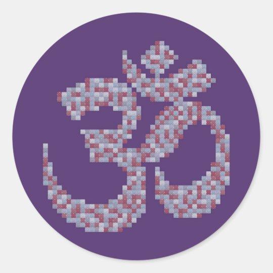 Om Symbol Stickers