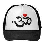 Om Symbol Trucker Hat
