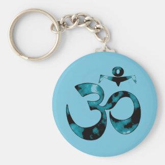 Om Symbol - Yoga Keychain