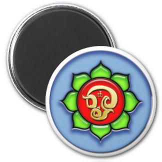 Om (Tamil) Red, Green, Blue Magnet