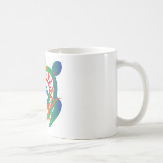 Om-Tatto-Vibrant-Turtle Coffee Mug