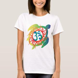 Om-Tatto-Vibrant-Turtle T-Shirt