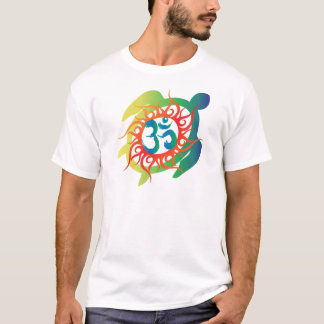 Om-Tatto-Vibrant-Turtle T-Shirt