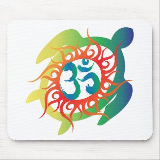 OM-Tatto-Vibrante-Tortuga Tapete De Ratones