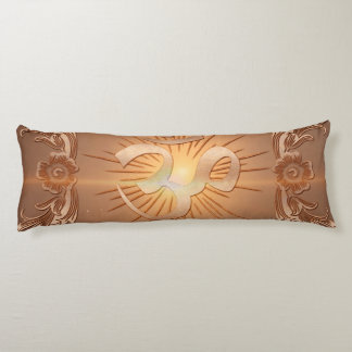 Om the sign body pillow